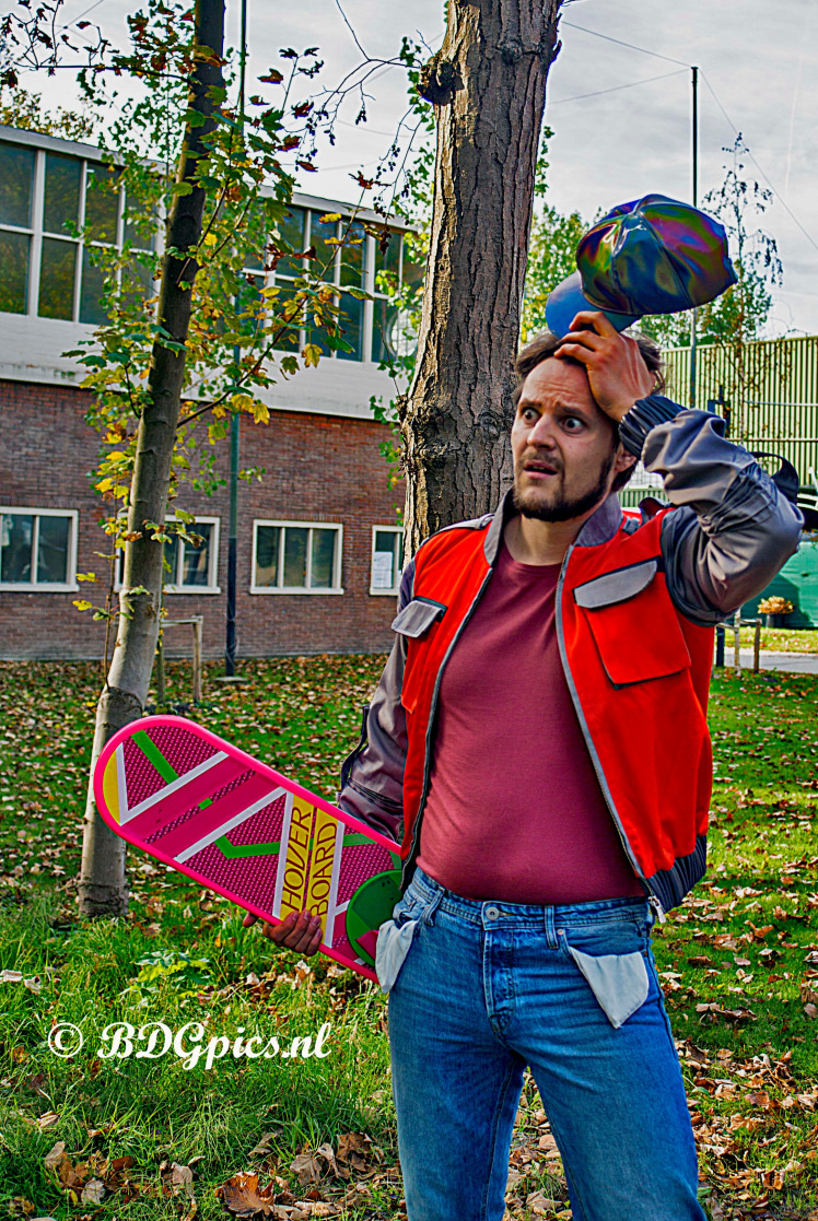 Cosplay; Hembrug; Winston; back to the future; Hembrugterrein;